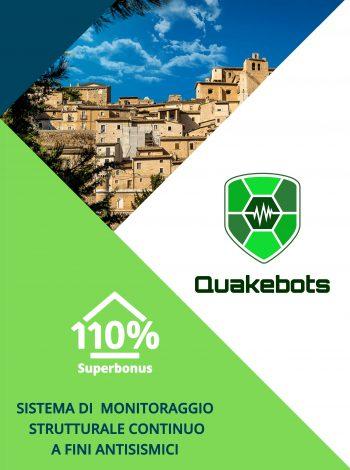 Immagine Copertina Brochure Quakebots Sisma bonus 110%